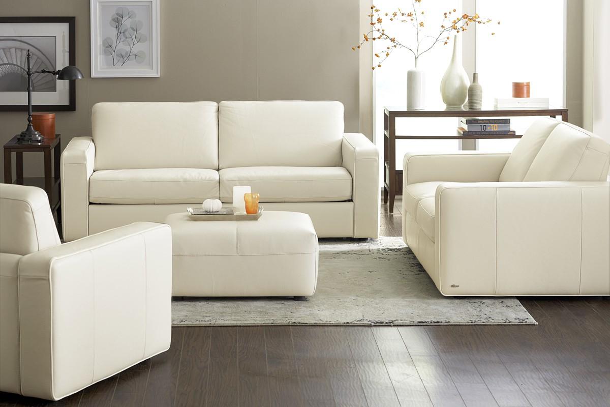 зонирование прямым диваном