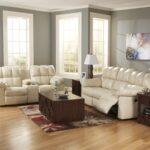 белый с коричневой тумбойкожаный диван