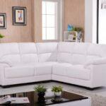 белый кожаный диван мягкий