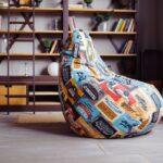 бескаркасная мебель идеи декор