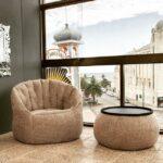 бескаркасная мебель фото оформление