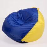 кресло сине-желтое