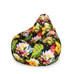 кресло с цветами
