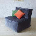 кресло квадратное с подушкой