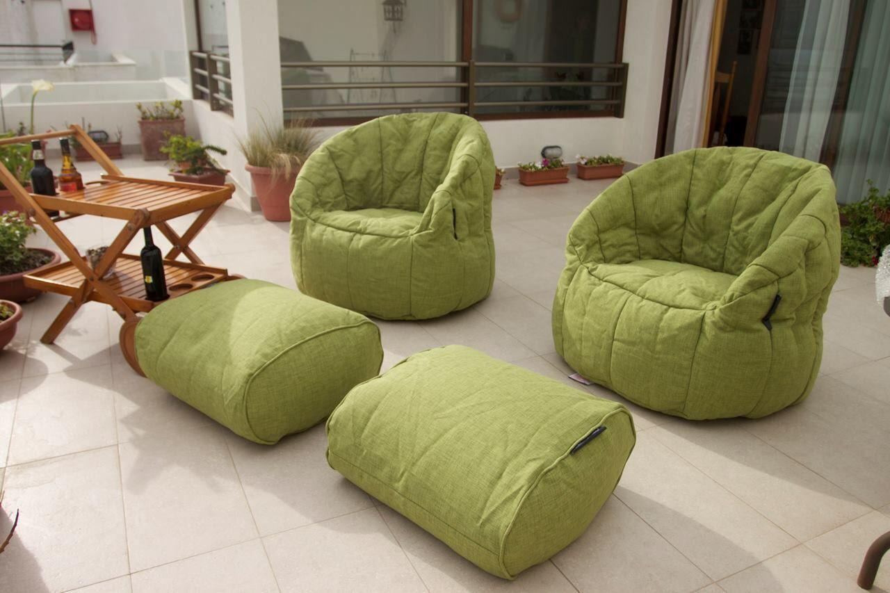 дизайн бескаркасной мебели