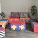 модульный диван бескаркасный