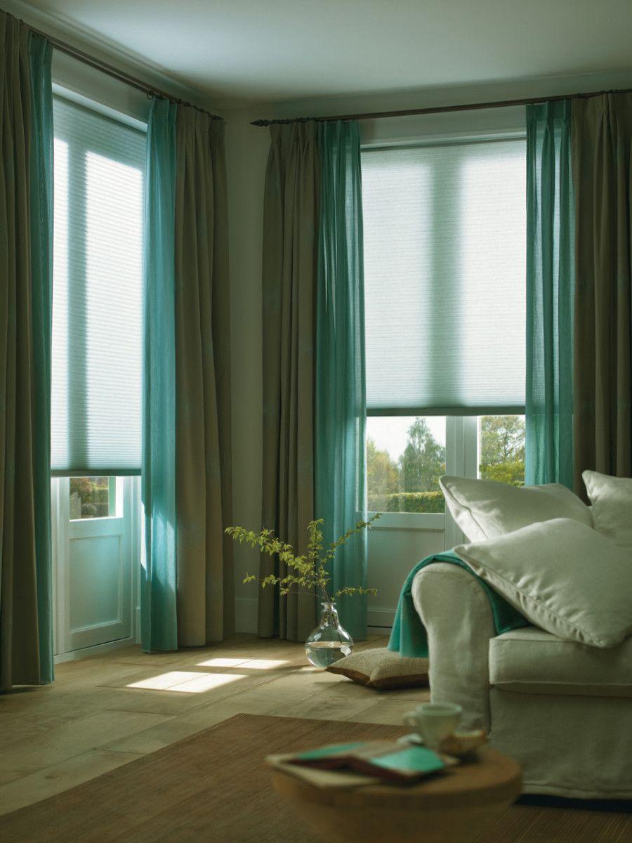 бирюзово зеленные шторы