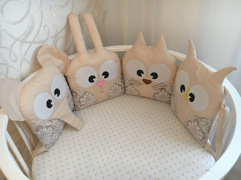 бортики для детских кроватей