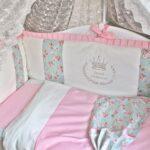 бортики для кровати принцесса