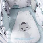 бортики для кровати с котом