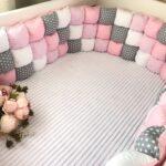 бортики для кровати квадратики