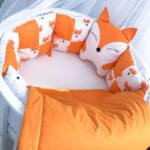 бортики для кровати лиса
