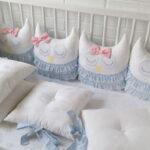 бортики для кровати с бантиками