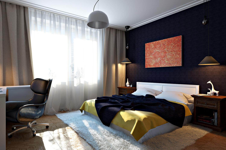 освещение в спальне идеи фото