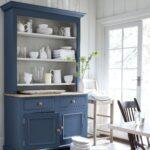 буфет кухонный синий