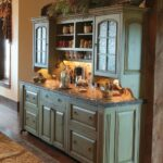 буфет кухонный большшой голубой