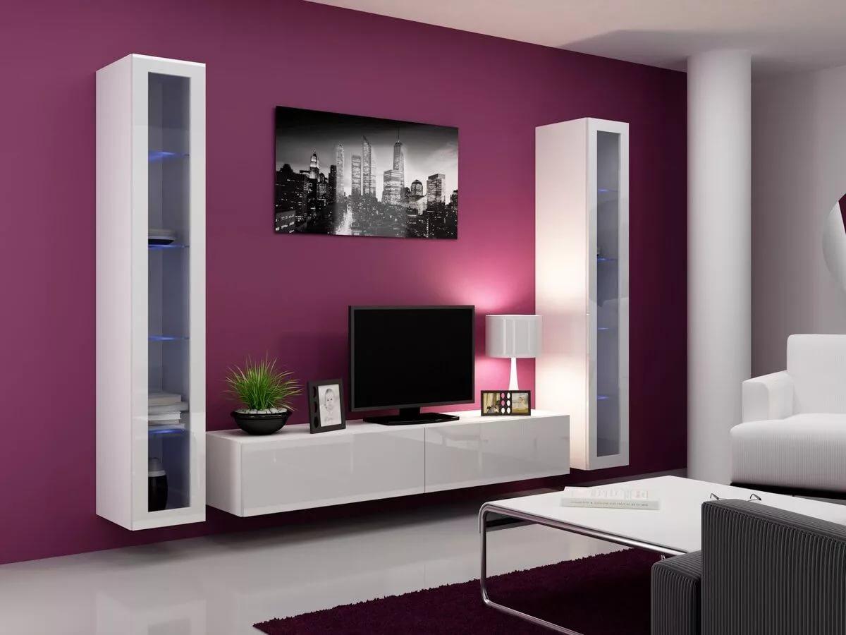 бюджетные модульные мебельные стенки