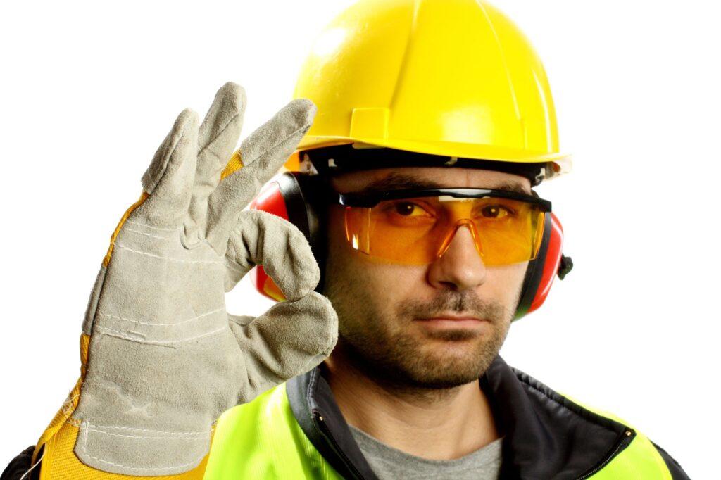 техника безопасности при работе со строительным материалом