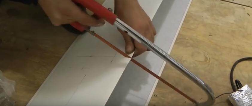 ножовка для резки пластика