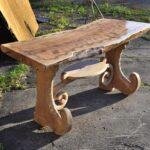 декупаж стола дерево
