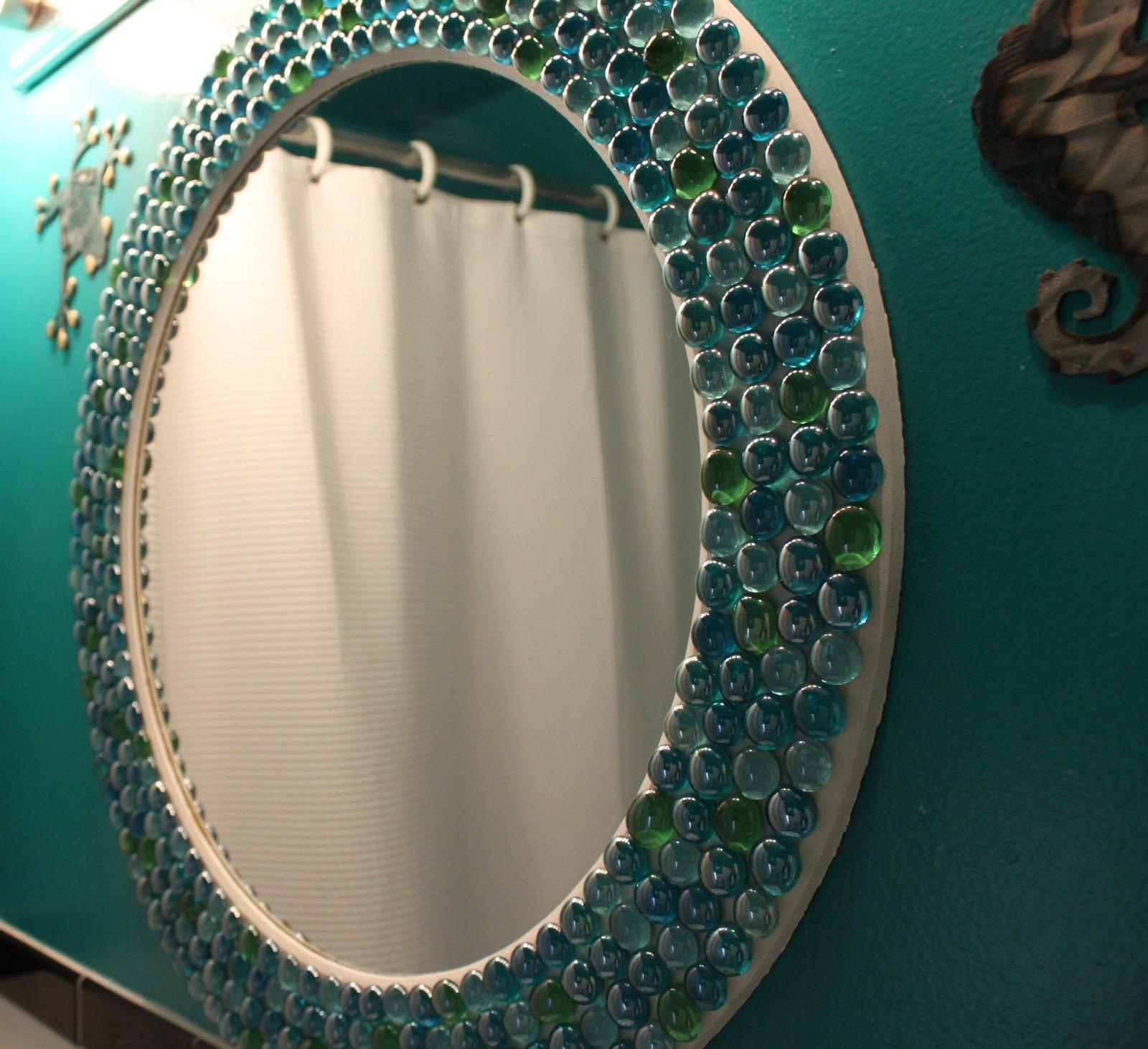 декорируем зеркало картинки пригодится отражатель, чтобы