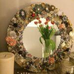 декор зеркала своими руками фото варианты