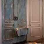 декорирование старого шкафа