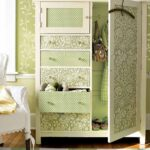 декор оливкового шкафа