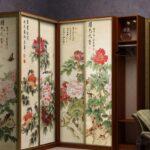 декор шкафа в азиатском шкафу