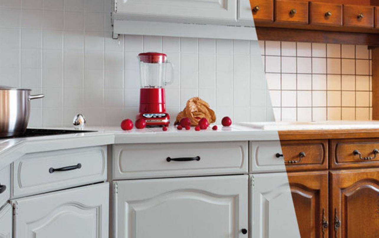 покраска кухонного гарнитура