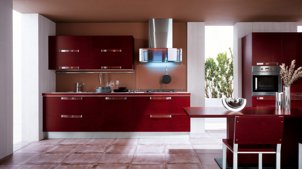 Кухни в цвете янтарь металлик фото