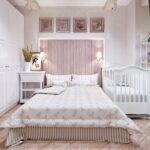 детская кровать белая с родительской