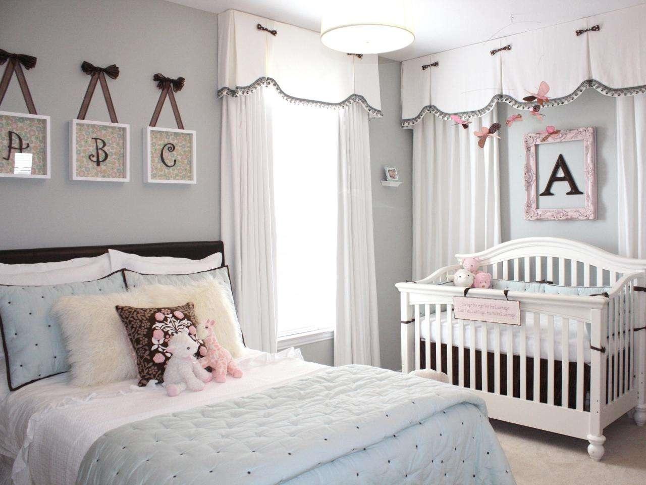 расположение детской кровати