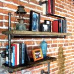 дизайнерские полки для книг и фото
