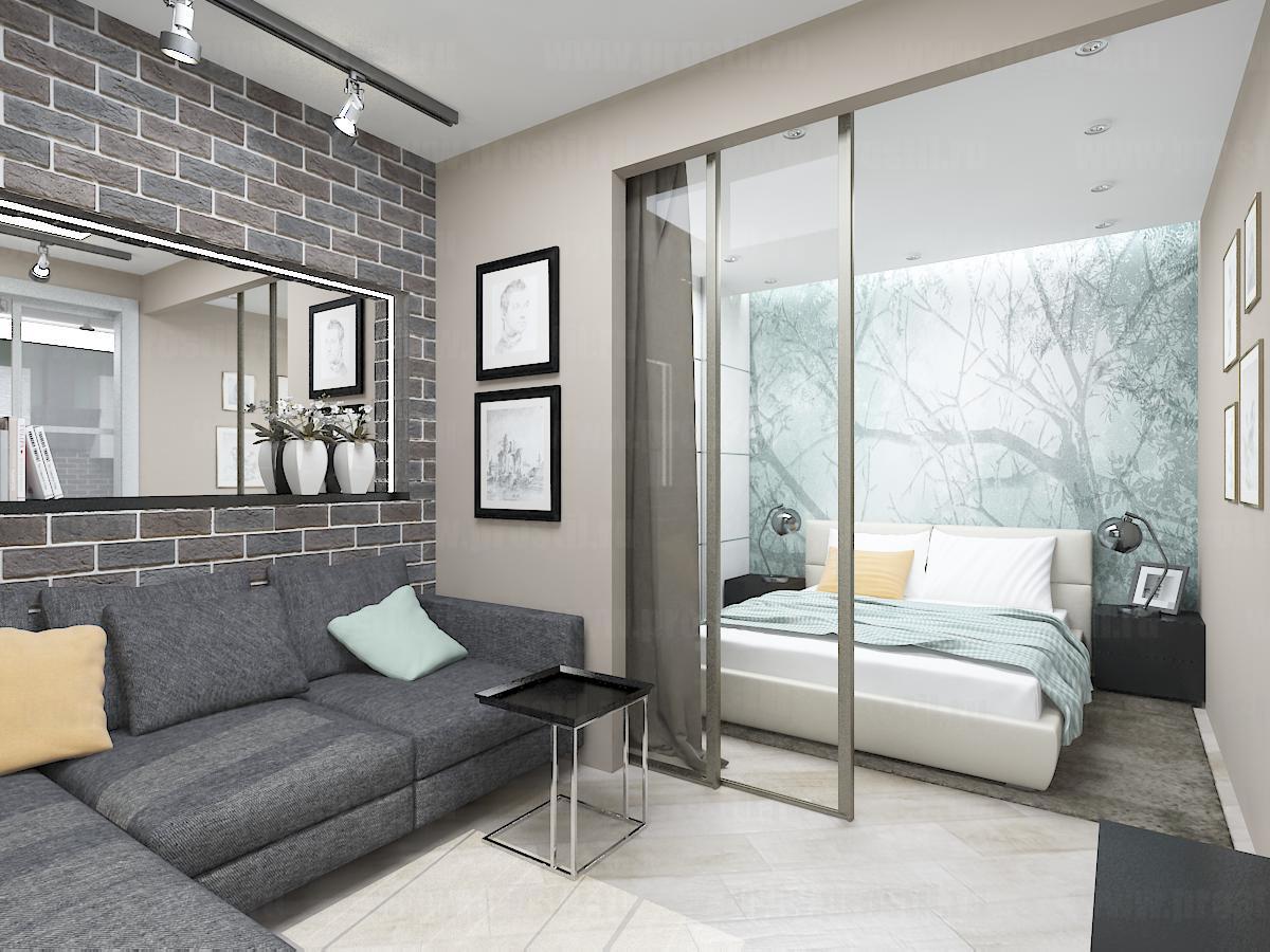 новую разжимную обустройство однокомнатной квартиры фото стоит бояться открыть