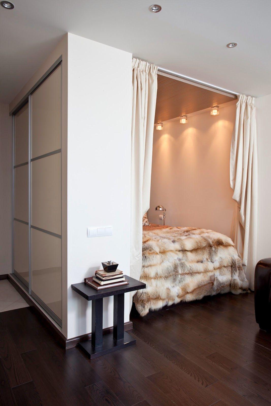 Дверь в нишу однокомнатной квартире фото