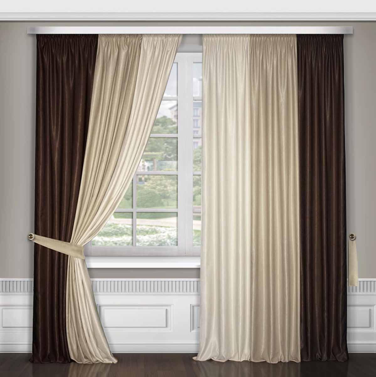 Дизайн тюлей и штор фото для зала