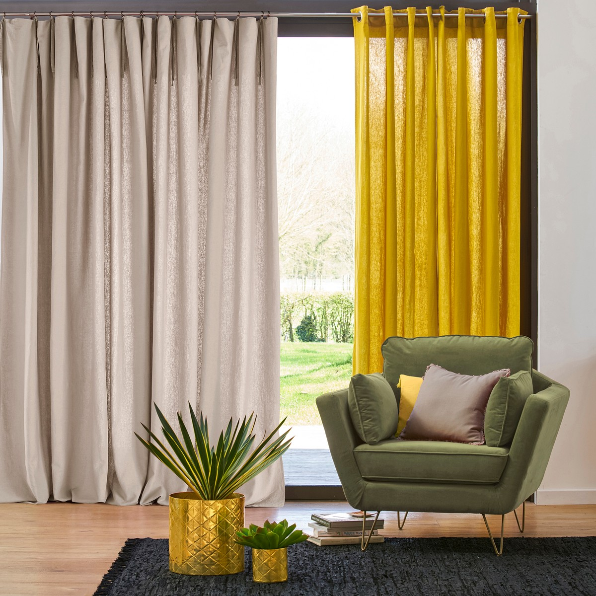 Дизайн штор для гостиной фото новинки
