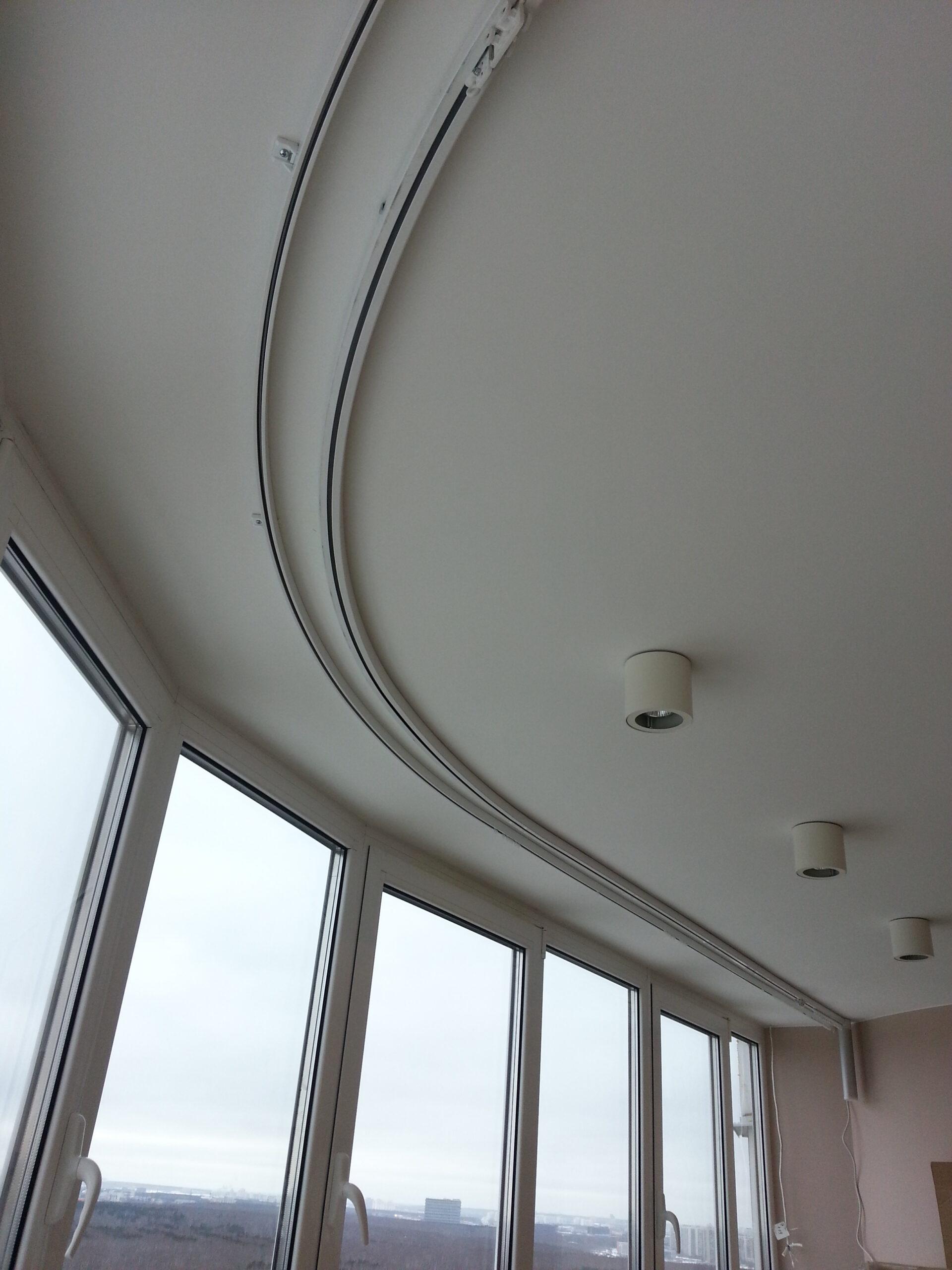 электрокарниз в больших помещениях