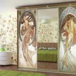 декор шкафа фресками