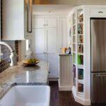 кухня маленькая под мрамор