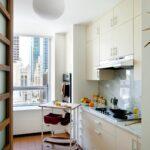 кухня маленькая белая угловая
