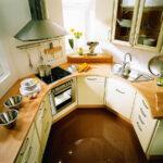 кухня маленькая круглая