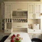 кухня маленькая прованс