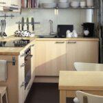 кухня маленькая деревянная
