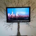 как спрятать провода от телевизора интерьер фото