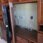как спрятать провода от телевизора интерьер идеи