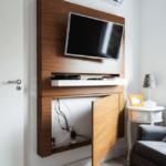 как спрятать провода от телевизора фото идеи