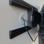 как спрятать провода от телевизора варианты фото