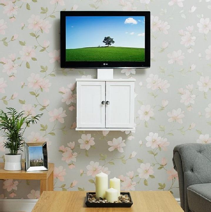 Как красиво убрать провода от телевизора фото ударом
